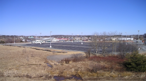 image of sackville metro bus link parking lot
